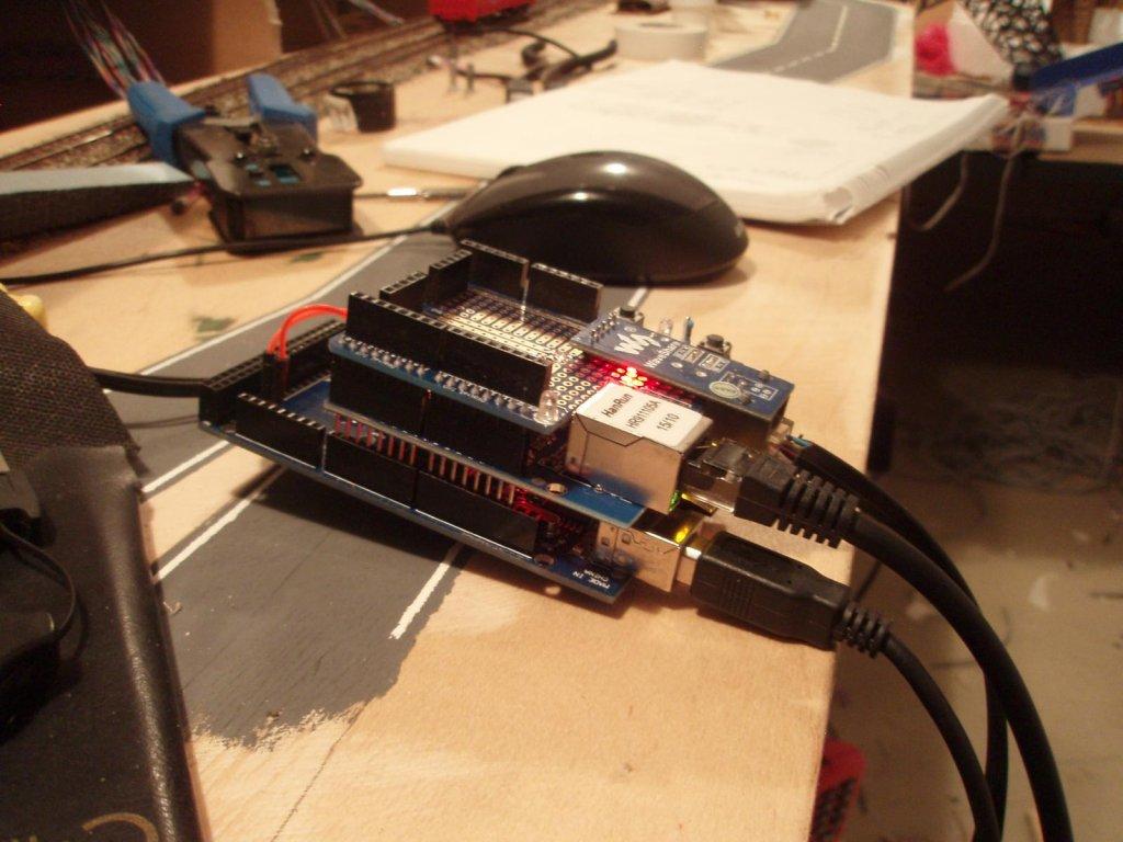 Diy Emulator Of Z21 Command Station, Based On Arduino For $20 - G