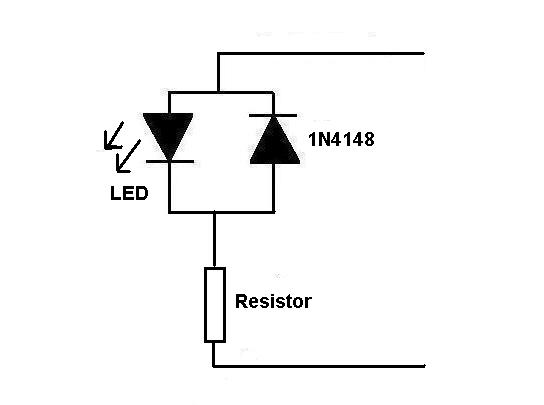 wiring leds for dcc
