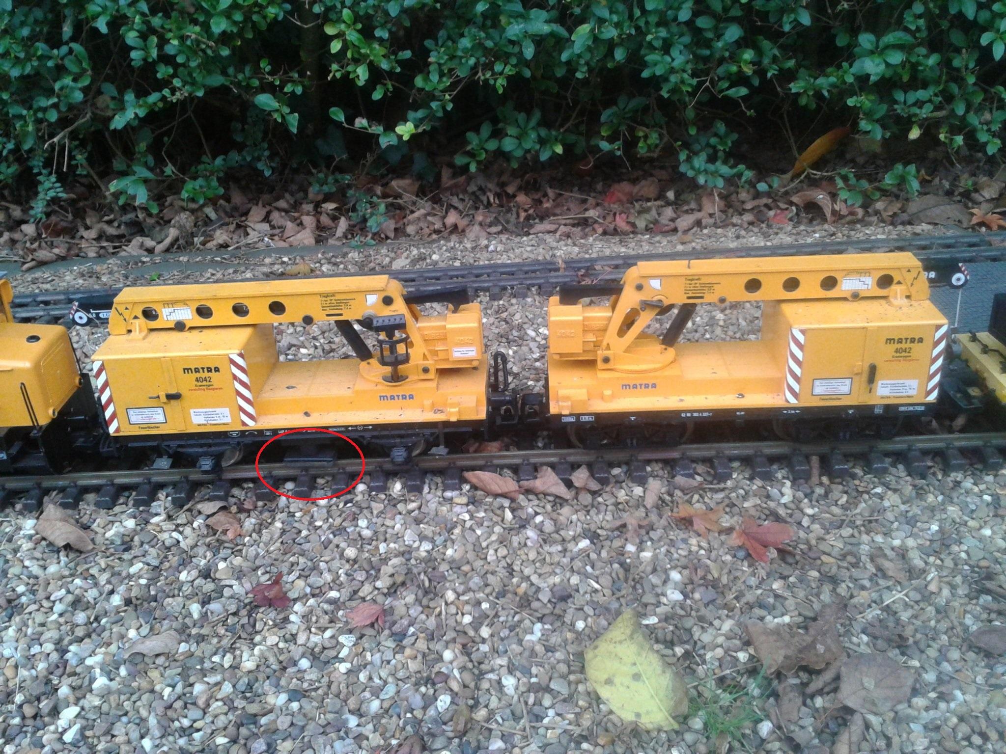 G Scale Track Cleaner lgb