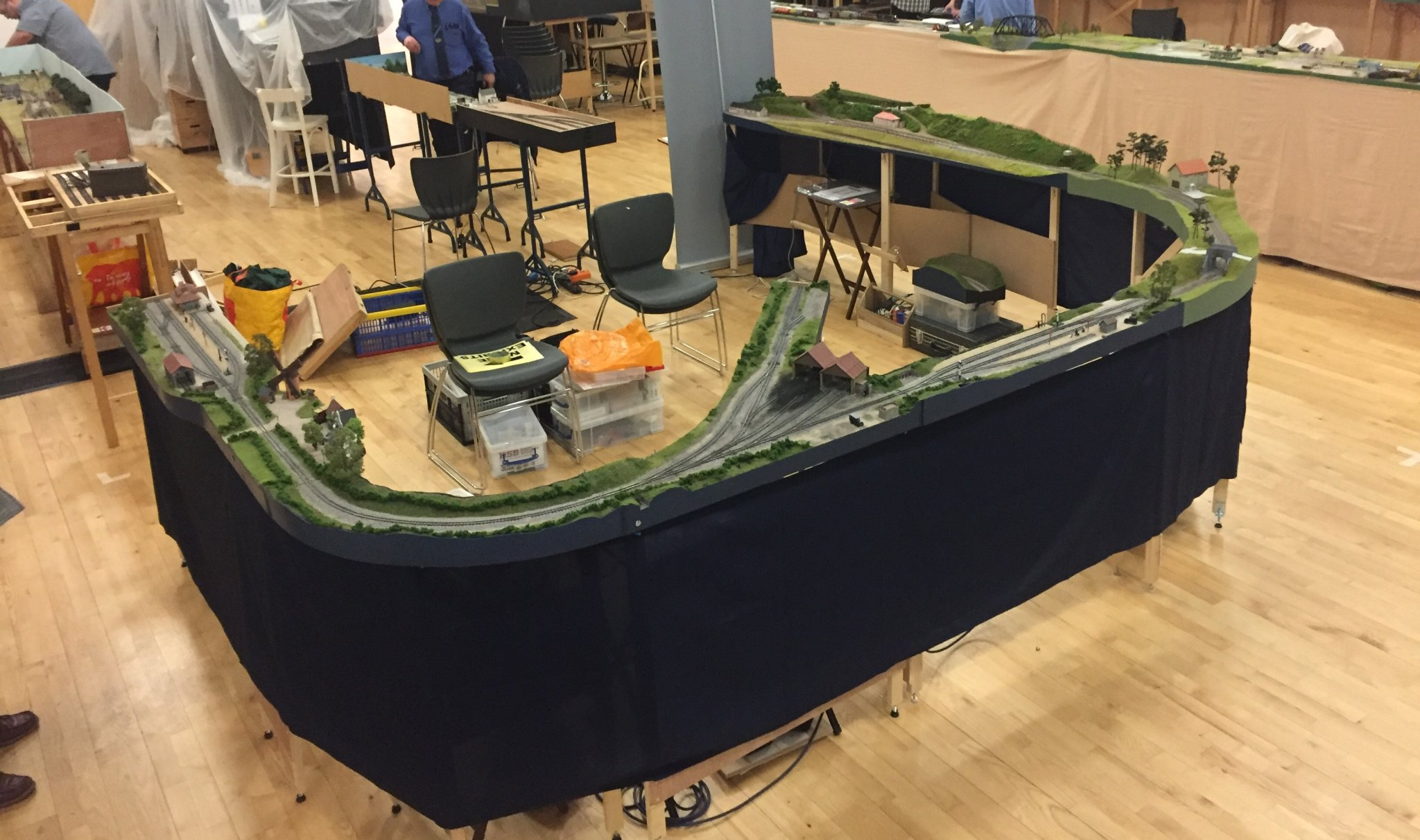 Is there a modular layout standard for G scale? - G Scale