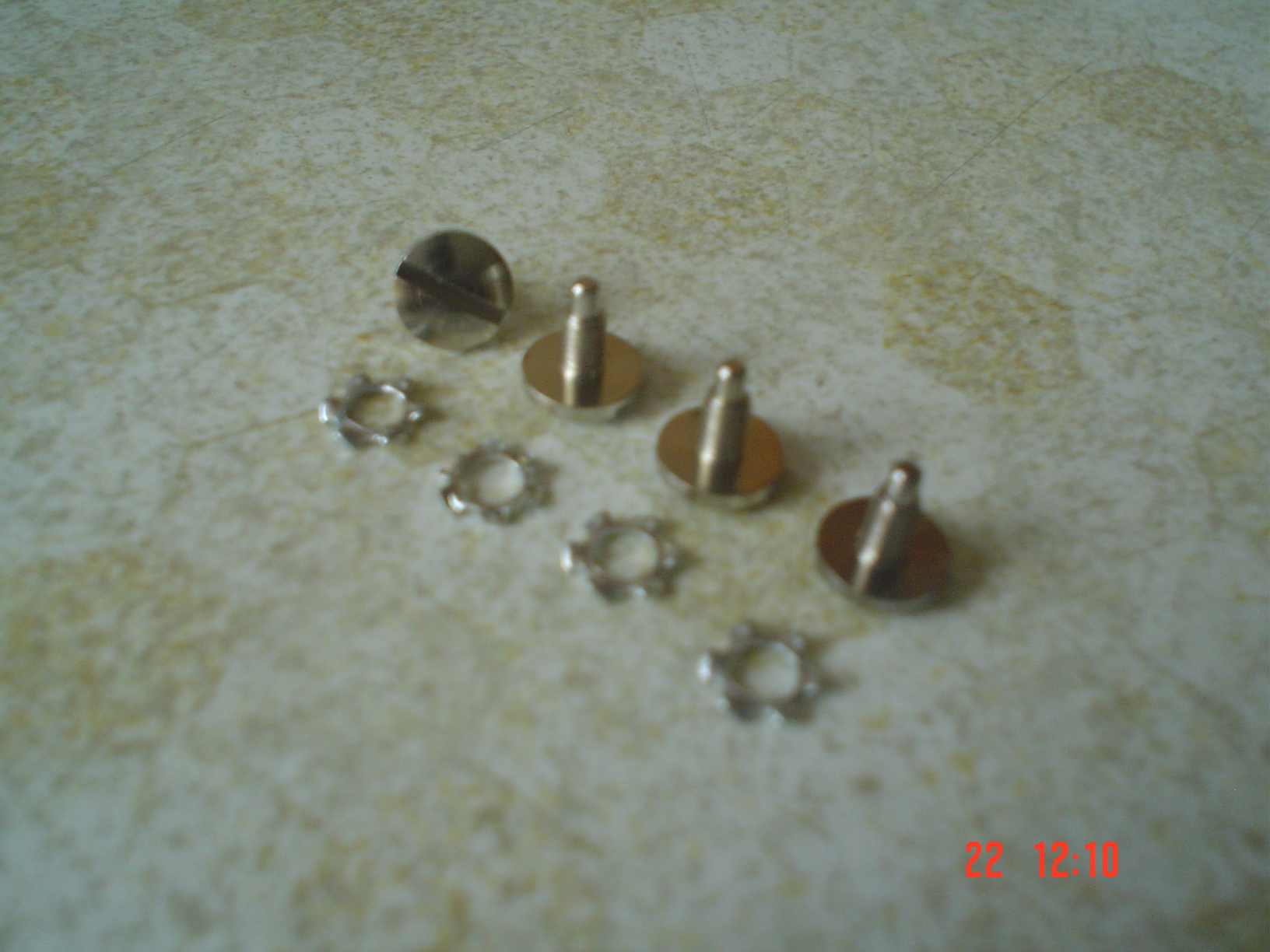 LGB axle screws