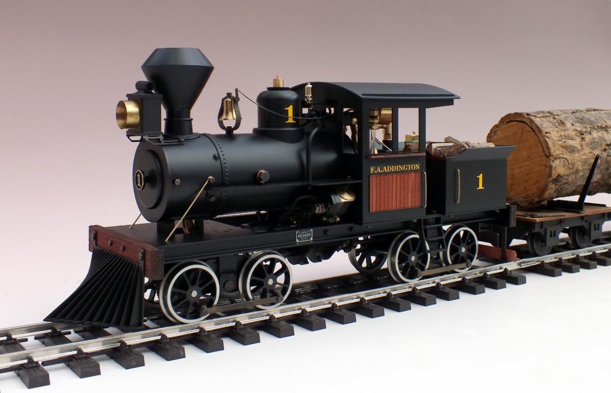 Regner Heisler Live Steam Locomotive